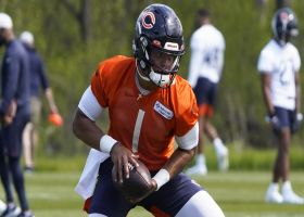 When will Fields overtake Dalton as Bears' QB1? | 'NFL Total Access'