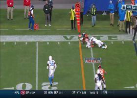 Melvin Gordon's juggling third-down grab keeps Denver's drive alive