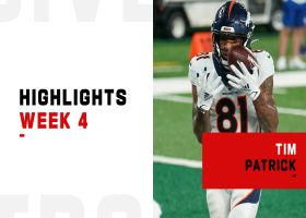 Every catch by Tim Patrick from 113-yard game | Week 4