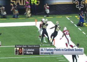 Week 8 fantasy winners | 'NFL Fantasy Live'