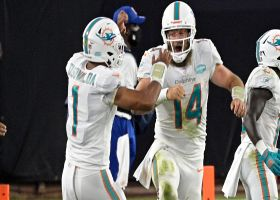 Fins dial up QB draw for Fitzpatrick on strong TD run
