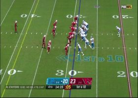 T.J. Hockenson carves up Cards' secondary with 27-yard catch and run