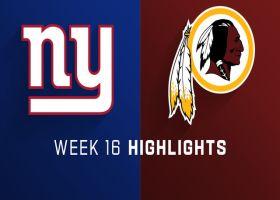 Giants vs. Redskins highlights   Week 16