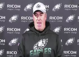 Doug Pederson explains why Nate Sudfeld replaced Jalen Hurts