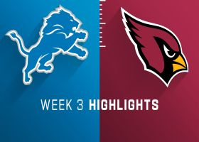 Lions vs. Cardinals highlights | Week 3
