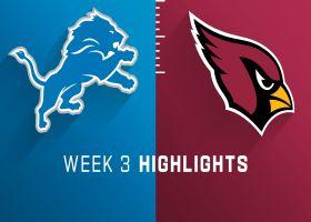 Lions vs. Cardinals highlights | Week 3