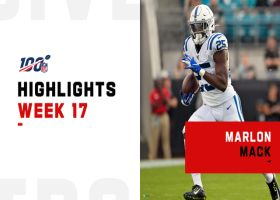 Marlon Mack's best plays from 2-TD game | Week 17