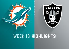 Dolphins vs. Raiders highlights | Week 16