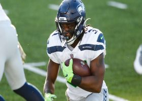 Seahawks' OL paves the way for DeeJay Dallas' untouched TD