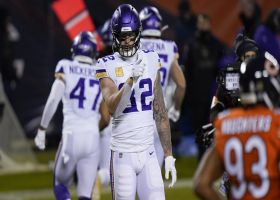 Kyle Rudolph dodges, carries defenders for first-and-20 pickup