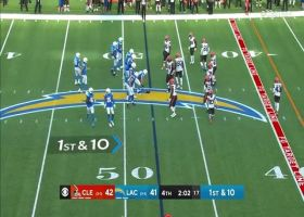 Jared Cook left wide open for 30-yard catch and run