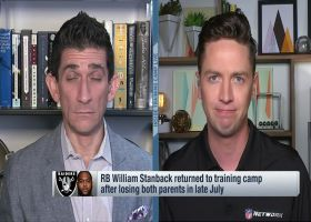 Pelissero: RB Stanback returns to Raiders camp after losing both parents