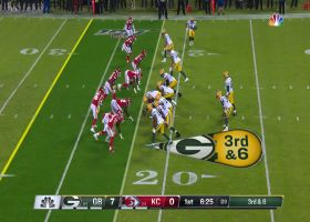 Tanoh Kpassagnon goes ALL OUT for diving sack vs. Rodgers