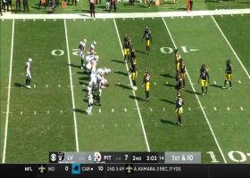 Cam Heyward infiltrates Raiders backfield for powerful TFL