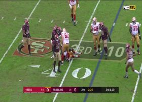 Landon Collins flies downhill to sniff out screen pass on third down