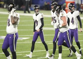 Justin Tucker's 41-yard FG is no good after doinking off the upright