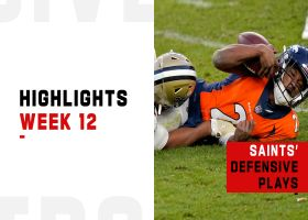 Saints' best defensive plays from dominant win | Week 12