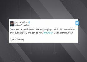 Russell Wilson, Doug Baldwin remember MLK's legacy on Twitter