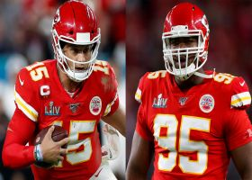 Palmer: Mahomes sent key text to reassure Chris Jones after signing new deal