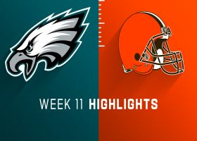 Eagles vs. Browns highlights | Week 11