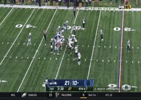 D.J. Reed comes away with Colts' fumbled snap for fourth-down stop