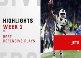 Jets' best defensive plays vs. Lions | Week 1