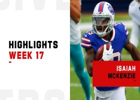 Every touch from Isaiah McKenzie's game | Week 17