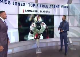 James Jones' Top 5 impact WRs in free agency