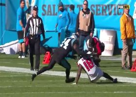 Calvin Ridley toasts James Bradberry for 26-yard catch