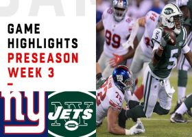 Giants vs. Jets highlights | Preseason Week 3