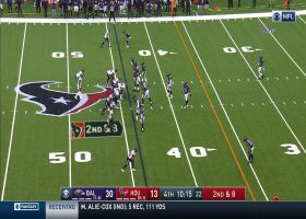 Randall Cobb creates separation with speed on 23-yard catch and run