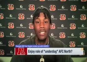 Tee Higgins shares how A.J. Green has influenced his game