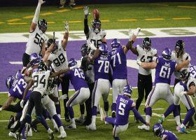 Dan Bailey's field goal gives Vikings a walk-off win in OT
