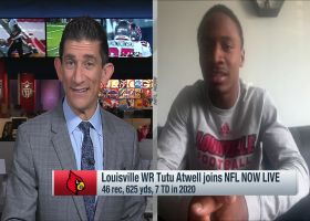 Louisville WR Tutu Atwell shares the NFL players he models his game after