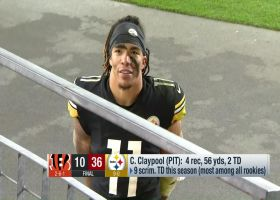 Chase Claypool: Roethlisberger schemed me up for both of my TDs vs. Bengals