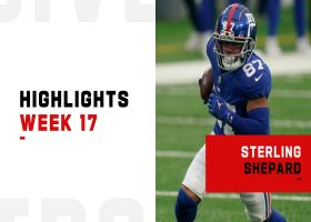 Every Sterling Shepard touch from 2-TD game | Week 17