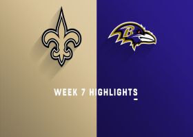 Saints vs. Ravens highlights | Week 7