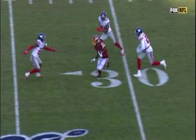 Haskins throws a laser to Terry McLaurin for 34 yards