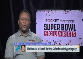Barry Sanders weighs in on Campbell hiring, Stafford departure