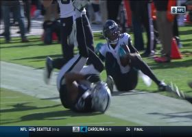 Keelan Cole breaks loose for 55-yard catch and run