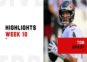 Tom Brady's most on-point throws from 3-TD game   Week 10