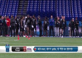 Jalen Reagor's 2020 NFL Scouting Combine workout