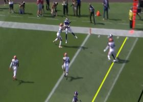 6-foot-3 Sills elevates for TD grab on fade from Lewerke