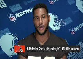 Malcolm Smith details how Browns will matchup against Justin Fields