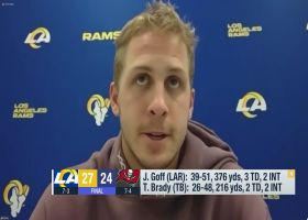 Goff: We can be as good as we want, everything is 'there for us to take'