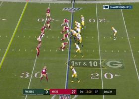 Davante Adams turns around DB with wicked blaze-out for 16 yards
