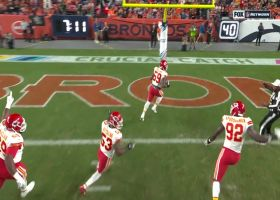 Ragland tallies a scoop-and-score TD after Flacco loses the ball