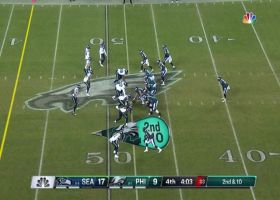 Tre Flowers commits 39-yard PI penalty to put Eagles in red zone