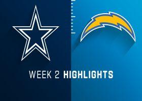 Cowboys vs. Chargers highlights   Week 2