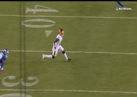 Dyami Brown lifts off to pluck insanely acrobatic 22-yard snag